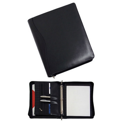 A4 Leather Portfolio (886BK_BMV)