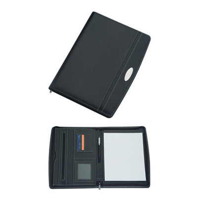 A4 Zippered Compendium (9105_BMV)