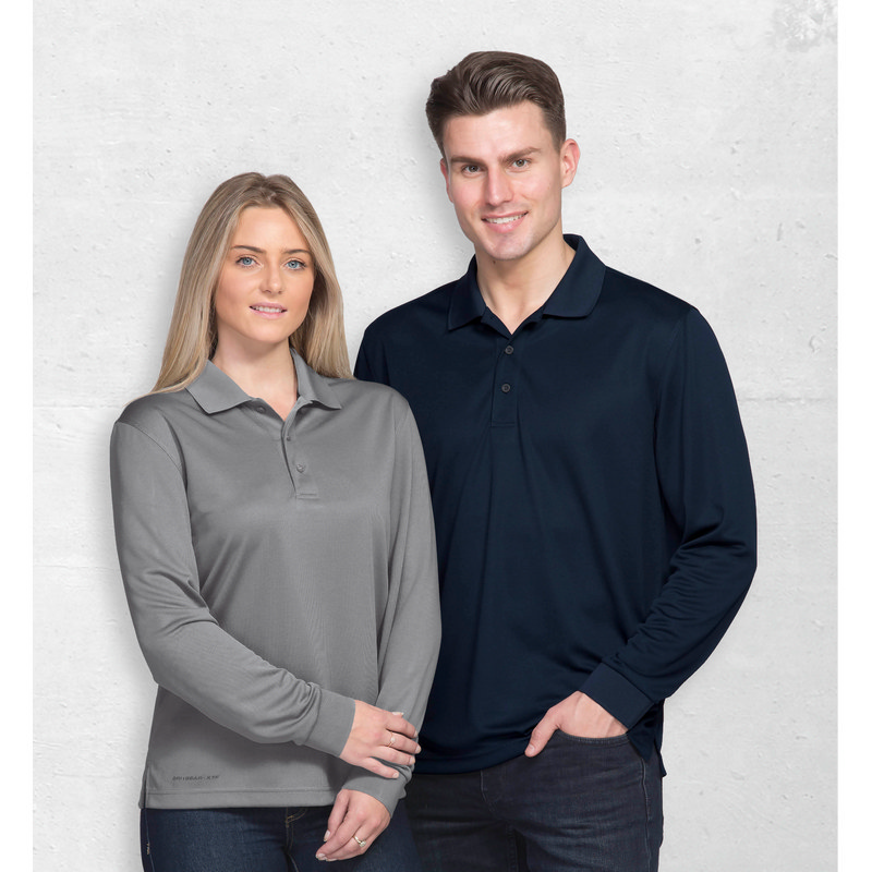 Dri Gear Long Sleeve Axis Polo