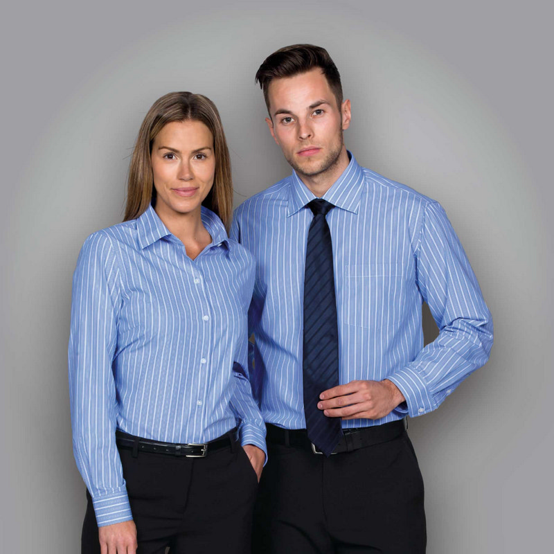 The Euro Corporate Stripe Shirt - Mens