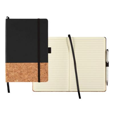 Lucca Hard Bound Journalbook (JB1021BK_BMV)