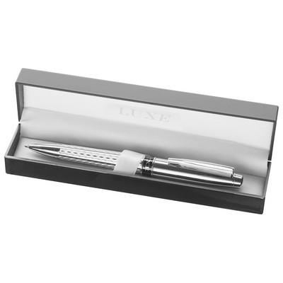 Luxe Renegade Ballpoint Pen - Silver (LUX1002S_BMV)
