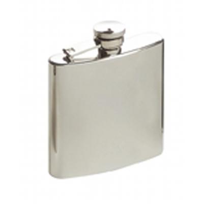 6Oz Brush Finish Hip Flask A1804200_AC