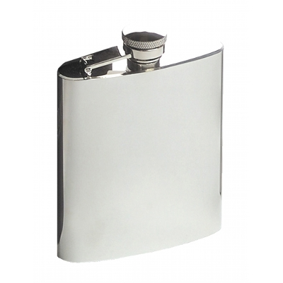8Oz Rimless Hip Flask A1804300_AC