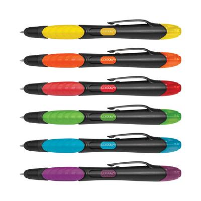 Nexus Multifunction Pen - Black Barrels