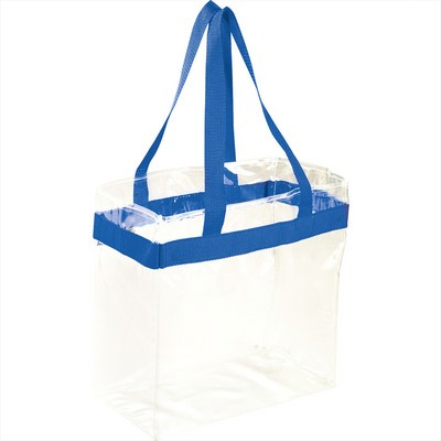Game Day Clear Stadium Tote - Includes Decoration 2301-36_BUL