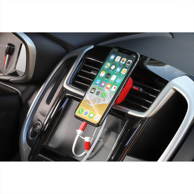 Chariot Phone Mount with 3-in-1 Cable - Includes Decoration 7141-59_BUL
