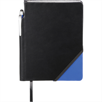 Ace Notebook with Pen-Stylus - Includes Decoration SM-3512_BUL