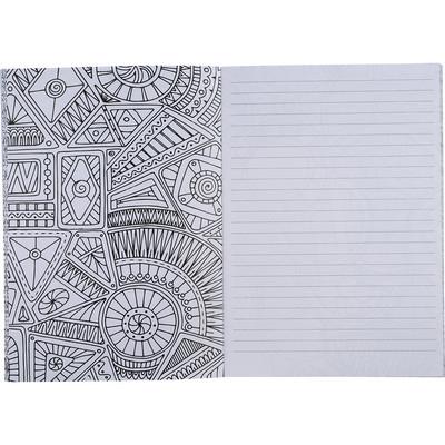 Doodle Adult Coloring Notebook - Includes Decoration SM-3572_BUL