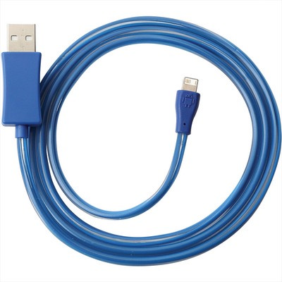 2-IN-1 Light Up Charging Cable - Includes Decoration SM-3662_BUL