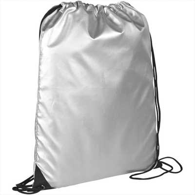 Oriole Reflective Drawstring Bag - Includes Decoration SM-5810_BUL
