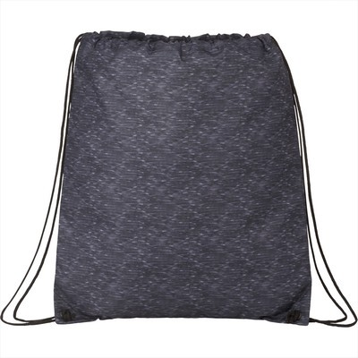 Graphite Oriole Drawstring Bag - Includes Decoration SM-5840_BUL