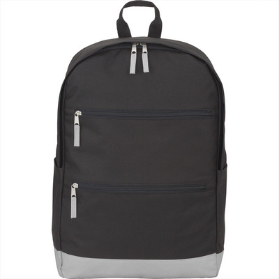 Vertical Zip 15 inch Computer Backpack - Includes Decoration SM-5851_BUL