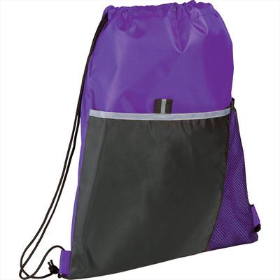Free Throw Drawstring Bag - Includes Decoration SM-7295_BUL