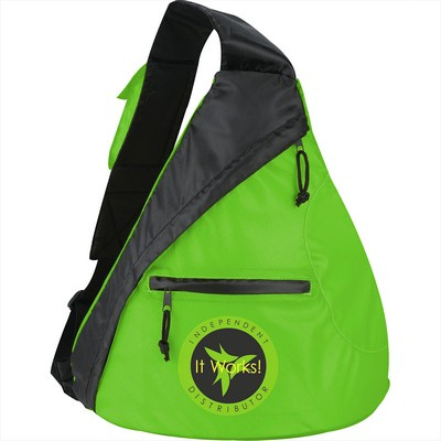 Downtown Sling Backpack - Includes Decoration SM-7591_BUL