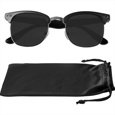 Islander Sunglasses w/ Microfiber Pouch - Includes Decoration SM-7897_BUL