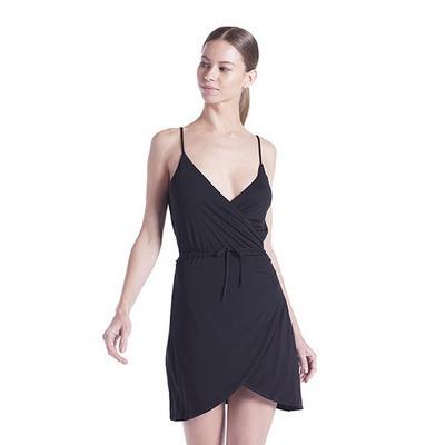 WOMENS MODAL WRAP DRESS US582_C3