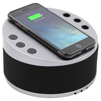 Lynq Desktop Hub with Wireless Charger