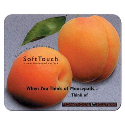 Soft Touch Mouse Pad - (printed with 1 colour(s)) MM802_CAPR