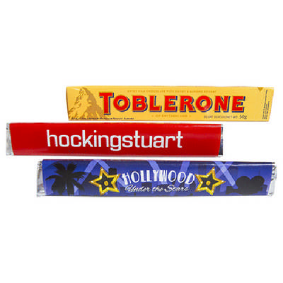 Toblerone Bar 100G - (printed with 4 colour(s))