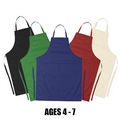 Ap002 Junior Cotton Apron (Age: 4-7) (AP002_DEX)