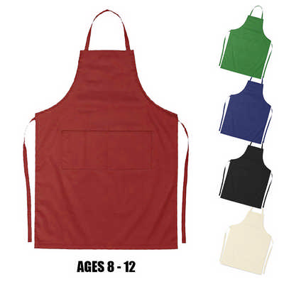 Ap003 Junior Cotton Apron (Age: 8-12) (AP003_DEX)