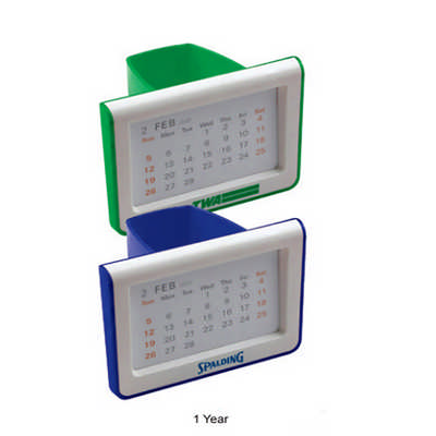 Pen Holder with Calendar (DS075A_DEX)
