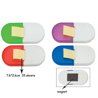Memo Pad Holder with Magnet - (DS151_DEX)