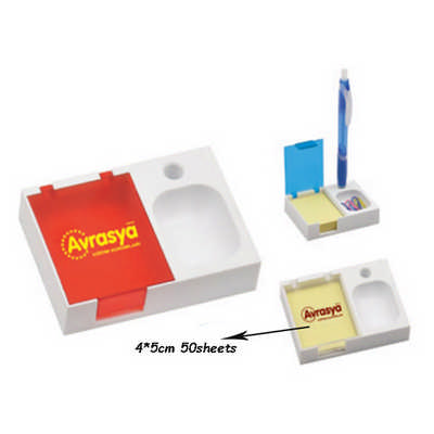 Pen Holder with Sticker (DS302_DEX)