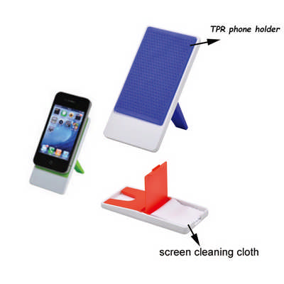 Mobile Holder with Cloth (DS533_DEX)