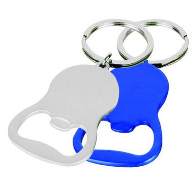 Cheers Round Bottle Opener Key Ring (KRB009_DEX)
