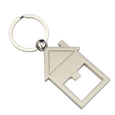 HOUSE BOTTLE OPENER KEY RING   (KRB011_DEX)