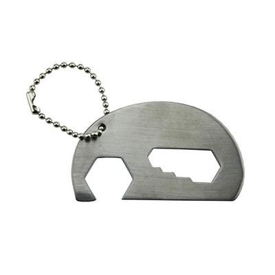 Elephant Bottle Opener Key Ring (KRB018_DEX)