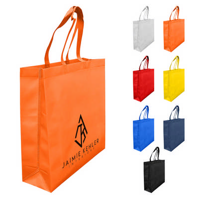 Laminated Non Woven Bag with Large Gusset (LNWB004_DEX)