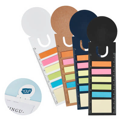 Bookmark Ruler Sticky Note Pad (MH010_DEX)