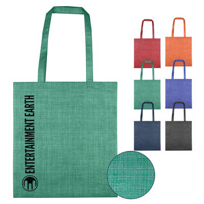 Silver Line Patterned Non Woven Bag (NWB021_DEX)