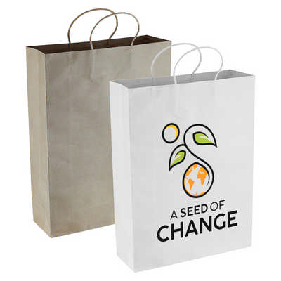 Paper Kraft Shopping Bag (PPB007_DEX)