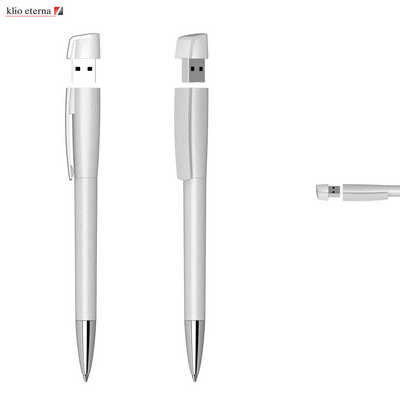 Turnus004 Usb Pen 8Gb Metallic Silver (TURNUS004_DEX)