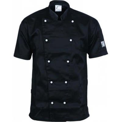 Three Way Air Flow Chef Jacket - SS 1105_DNC