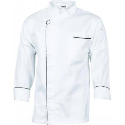 190gsm Cool-Breeze Modern Cotton Jacket with Under Arm Airflow Vents, L/S 1124_DNC