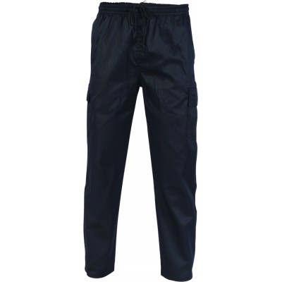 200gsm Polyester Cotton Drawstring Cargo Chef Pants 1506_DNC