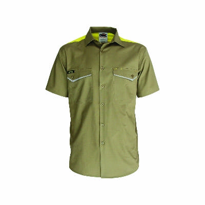 Ripstop Tradies Shirt, S/S