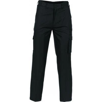275gsm Poly/Viscose Permanent Press Cargo Trousers 4504_DNC