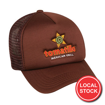 Local Stock - Trucker Mesh Cap (AH295_GRACE)
