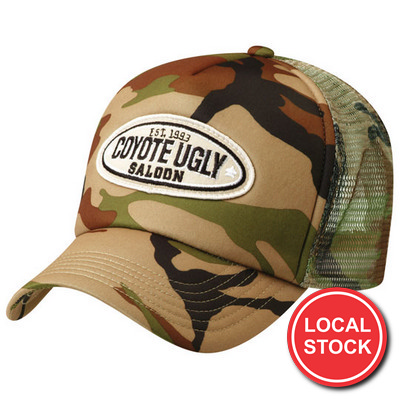 Local Stock - Camouflage Truck Cap (AH296_GRACE)