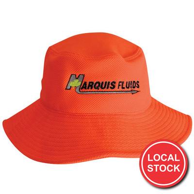 Local Stock - Pq Mesh Bucket Hat (AH631_GRACE)