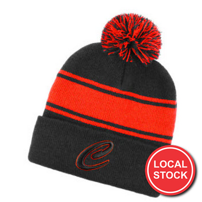Local Stock - Beanie With Pom Pom (AH735_GRACE)