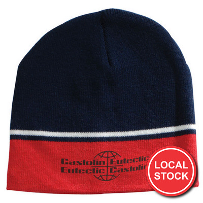 Local Stock - Two-Tone Beanie (AH740_GRACE)