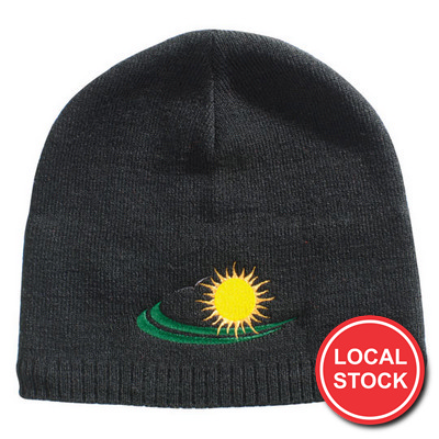 Local Stock - Acrylicpolar Fleece Beanie (AH744_GRACE)