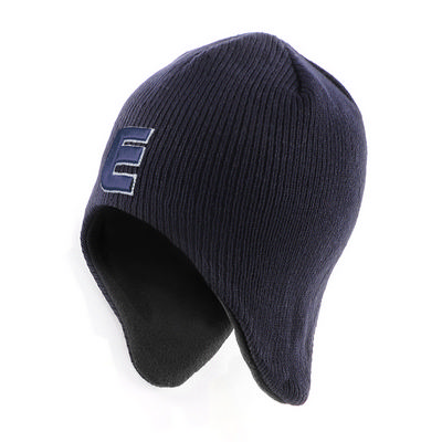 AcrylicPolar Fleece Beanie with Ear Flap (AH750_GRACE)